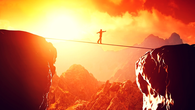 Walking a Tightrope Without a Net